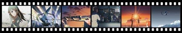Кадры из аниме Beyond the Clouds