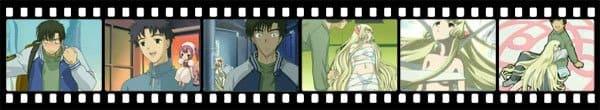 Кадры из аниме Chobits
