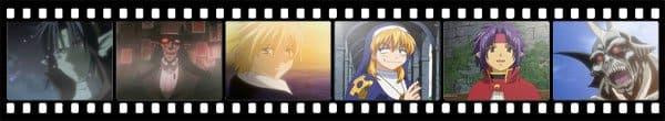Кадры из аниме Chrno Crusade