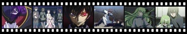 Кадры из аниме Code Geass