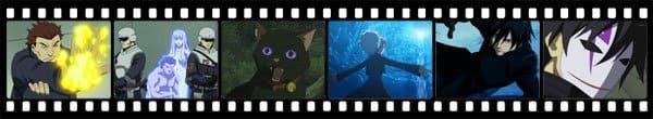 Кадры из аниме Darker than Black