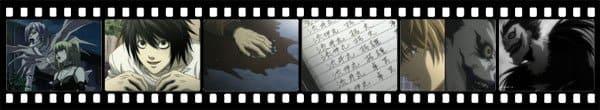 Кадры из аниме Death Note