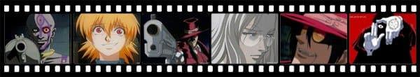 Кадры из аниме Hellsing