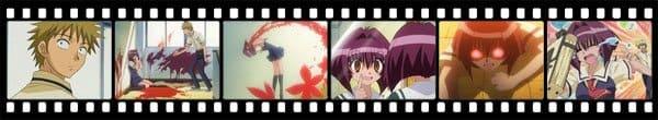 Кадры из аниме Karin