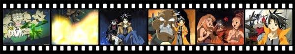 Кадры из аниме King of Bandit Jing