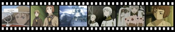 Кадры из аниме Last Exile