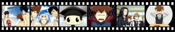 Кадры из аниме Home Tutor Hitman Reborn!