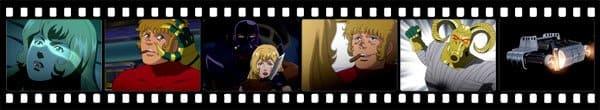 Кадры из аниме Cobra the Animation