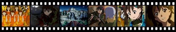 Кадры из аниме Sora no Oto