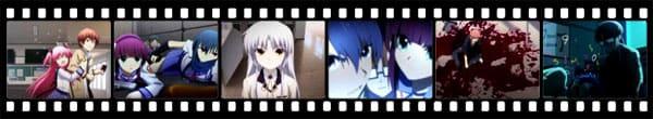 Кадры из аниме Angel Beats!