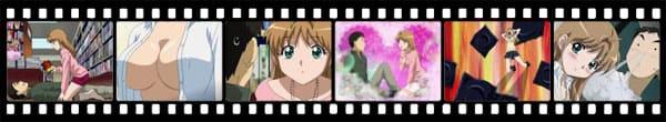 Кадры из аниме B Gata H Kei