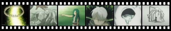 Кадры из аниме Mushishi