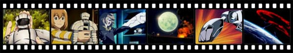 Кадры из аниме Heroman