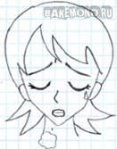 Брови и эмоции в аниме