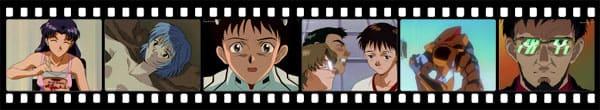 Кадры из аниме Neon Genesis Evangelion