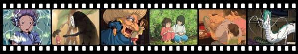 Кадры из аниме Spirited Away