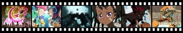 Кадры из аниме Basquash!