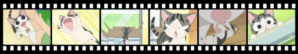 Кадры из аниме Chi's New Address