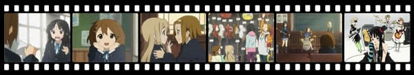 Кадры из аниме K-On!