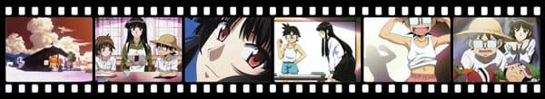 Кадры из аниме Natsu no Arashi