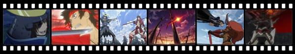 Кадры из аниме Sengoku Basara