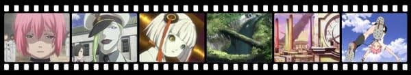 Кадры из аниме Shangri-la