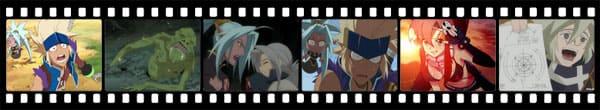 Кадры из аниме Slap Up Party