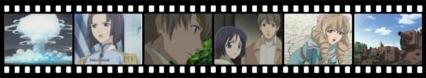 Кадры из аниме Valkyria Chronicles