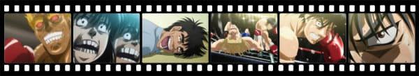 Кадры из аниме Hajime no Ippo