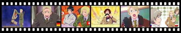 Кадры из аниме Hetalia Axis Powers