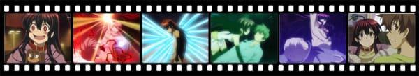 Кадры из аниме Black God