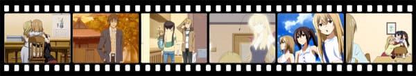 Кадры из аниме Minami-ke Okaeri