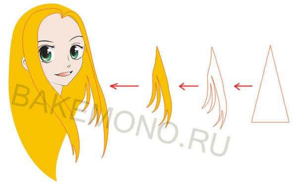 дорисовываем волосы