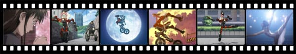Кадры из аниме RideBack
