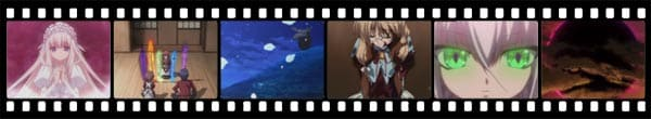 Кадры из аниме 11 eyes