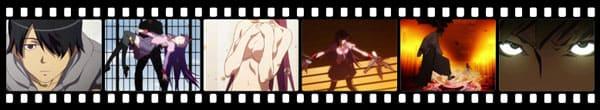 Кадры из аниме Bakemonogatari