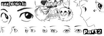 Основы рисования глаза