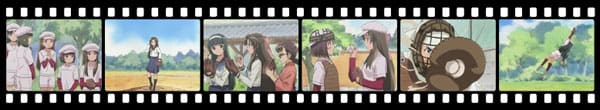 Кадры из аниме Taishou Yakyuu Musume