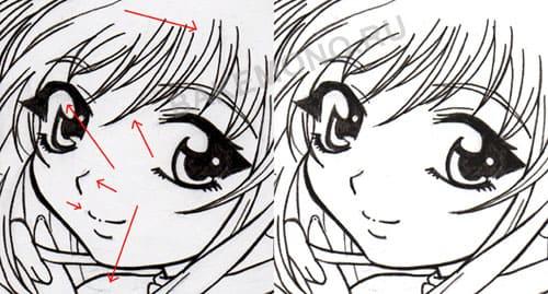 рисунки аниме