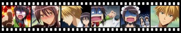 Кадры из аниме Kaichou wa Maid-sama!