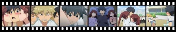 Кадры из аниме KissXsis