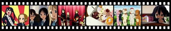 Кадры из аниме K-On!!