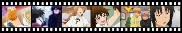 Кадры из аниме Working