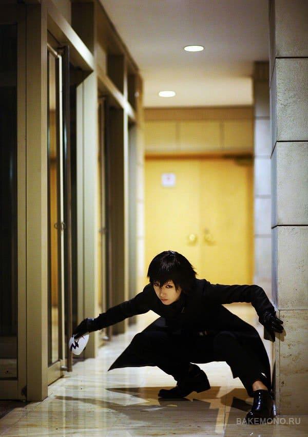 Косплей Хэя из аниме Темнее черного