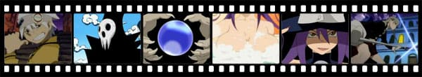 Кадры из аниме Soul Eater