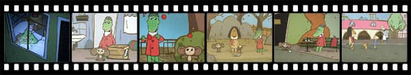 Кадры из аниме Cheburashka Arere?
