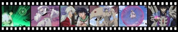Кадры из аниме Inuyasha