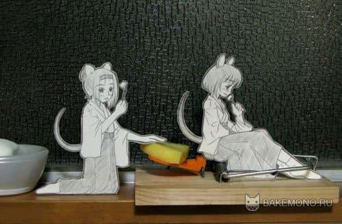 Мышеловка из аниме