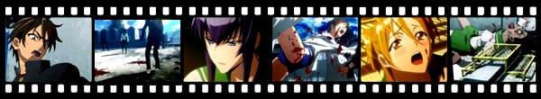 Кадры из аниме Gakuen Mokushiroku