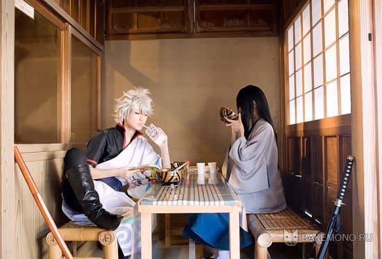 Gintama в кафе